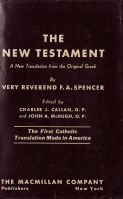 Spencers new testament